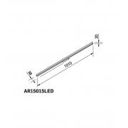 ARANDELA LED NEWLINE AR15015LED1 FIT 15 17,6W 3000K 600LM 1010X38X20MM
