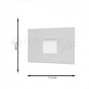 BALIZADOR ITAMONTE 901-301/302 6W 3000K 400LM 110/220V 75X40X115MM