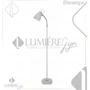 COLUNA CASUAL LIGHT QCL1152-BR BERGEN 1L E27 340X205X1320MM BRANCO