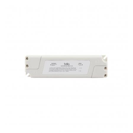 FONTE/DRIVER LED BRILIA 301696 30W 1,25A 24V IP20 BIVOLT