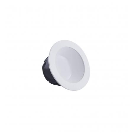 LUMINÁRIA EMBUTIR LED BRILIA 304666 DOWNLIGHT REDONDO 15W 4000K BIVOLT 136X68MM