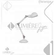 LUMINÁRIA MESA CASUAL LIGHT  LM866-BR HELMET 1L E27 550X230X475MM BRANCO