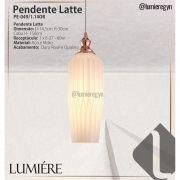 Pendente Latte Rose Gold PE-048/1.12OR