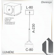 Pendente Led Old Artisan PD-5398 5.5W 2700K 110w
