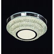 PLAFON Ø60CM CRISTAL LED 116W 3000K 4000K 6000K 4000LM CONTROLE BIVOLT - DCX00130