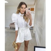 Camisa Rebecca Branca