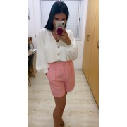Shorts linho Leone
