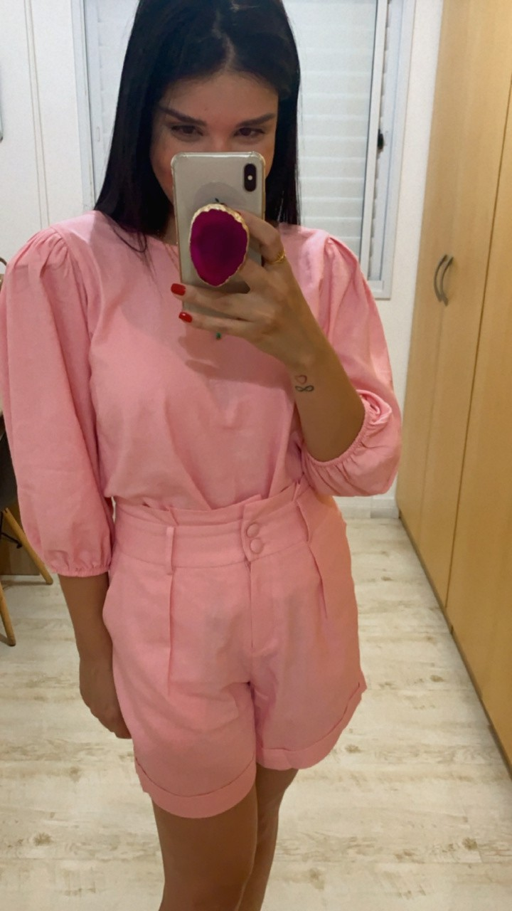 Blusa de linho Florence