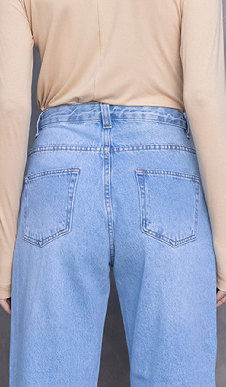 Calça Jeans Mom Nadia