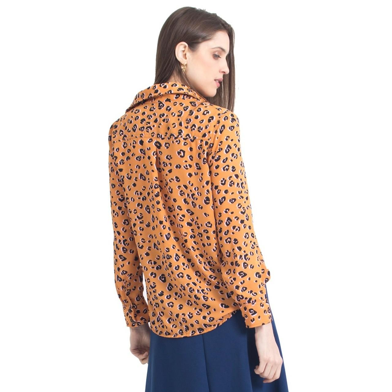 Camisa de onça Gaia