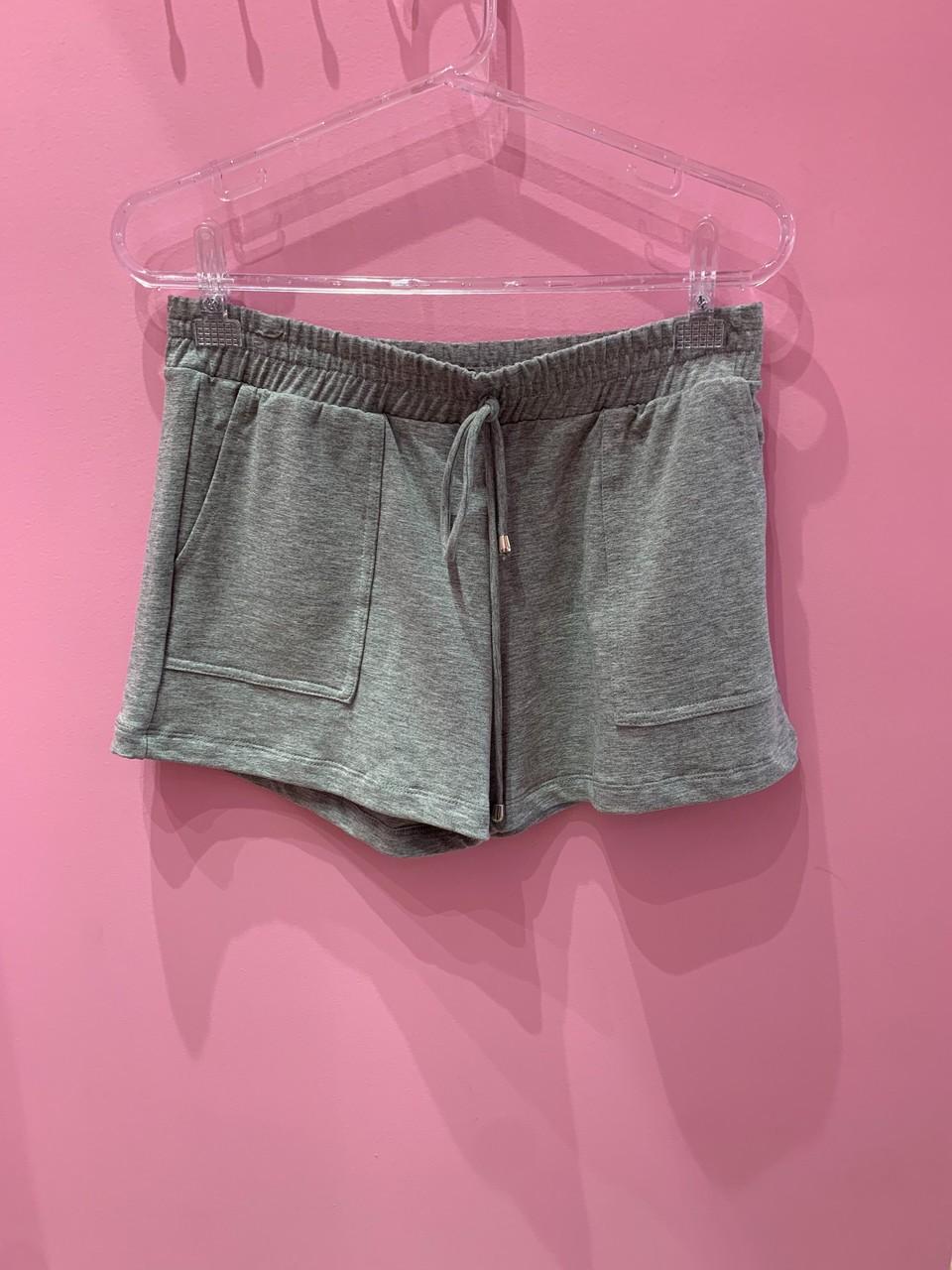 Shorts de moletom Cici