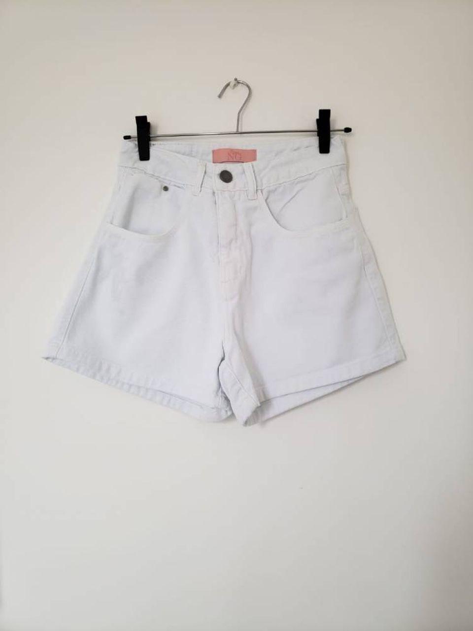 Shorts Mom Branco