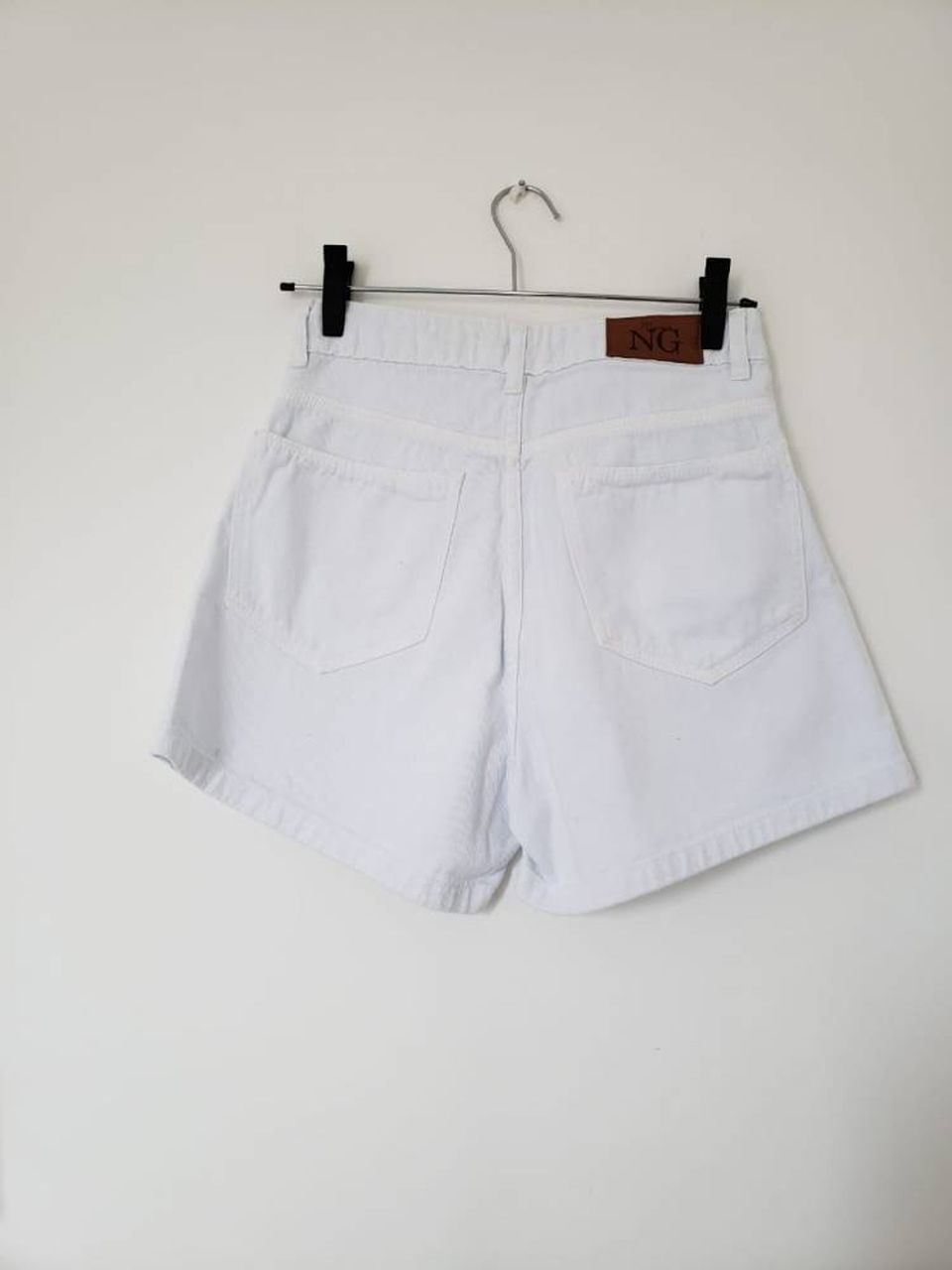 Shorts Mom Branco