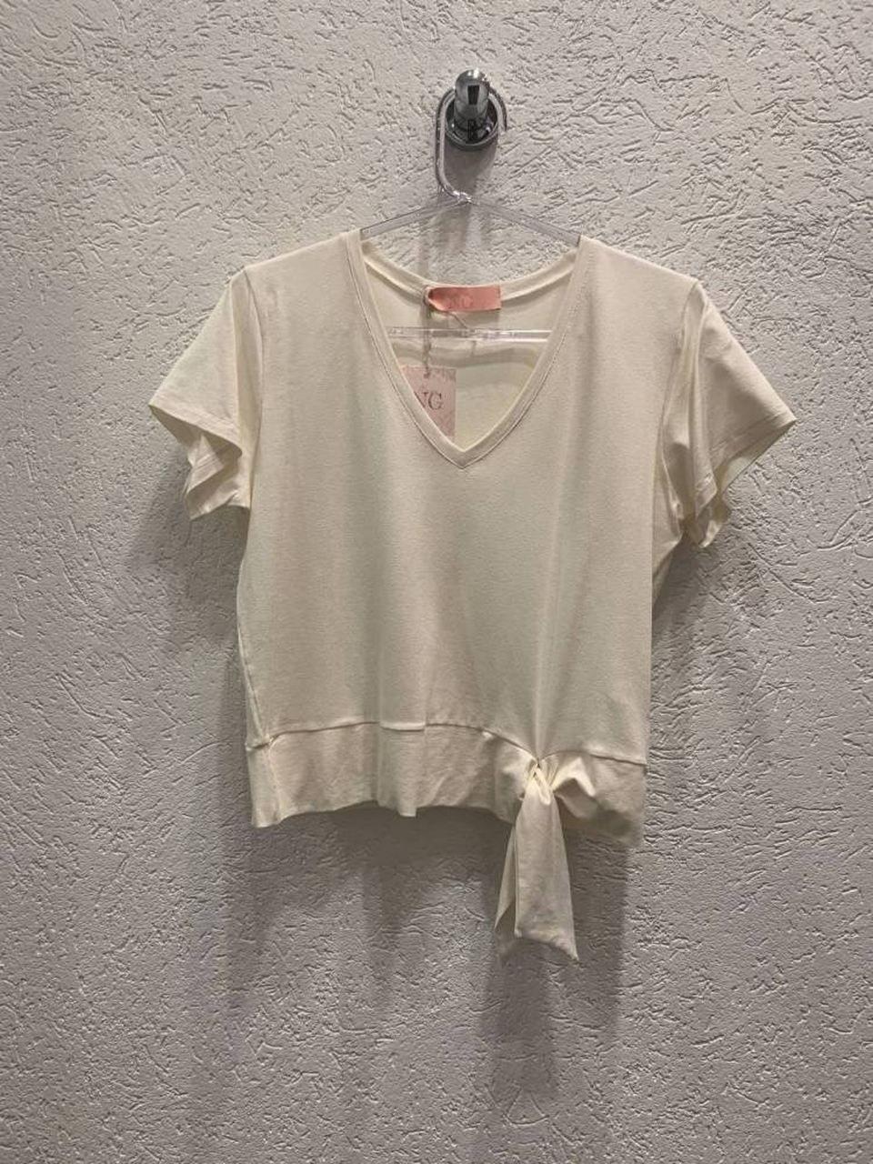 T-shirt Básica Nó Off White