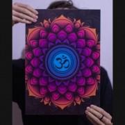Quadro Mandala Ohm
