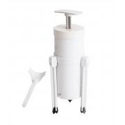 Cortador De Nhoque / Nhoqueira De Plastico Branco