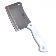 Faca Fação Cutelo Açougueiro Cozinha Profissional Aço Inox 7