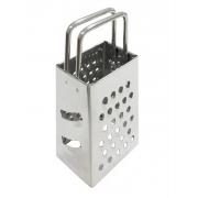 Mini Ralador Inox Com 4 Faces