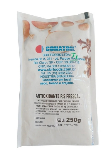 Antioxidante P/ Linguiças E Embutidos Frescais Conatril 250g
