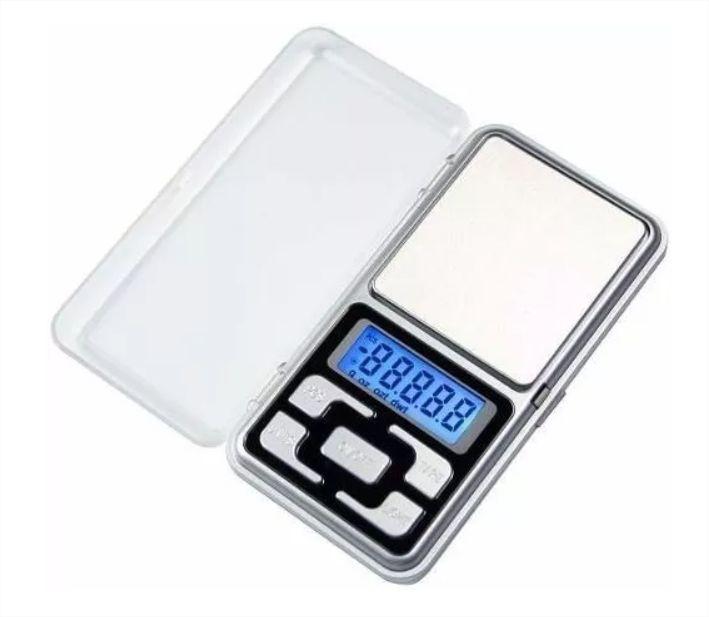 Balança Precisão Digital Alta Precisao 0.1g Até 500g