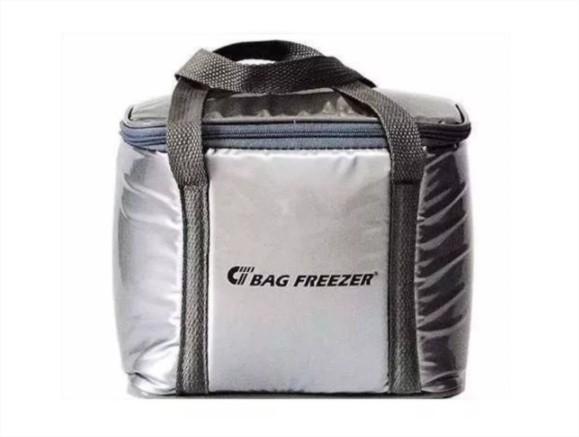Bolsa Semi Térmica 10 Litros Bag Freezer P/ Cerveja Lanche Praia