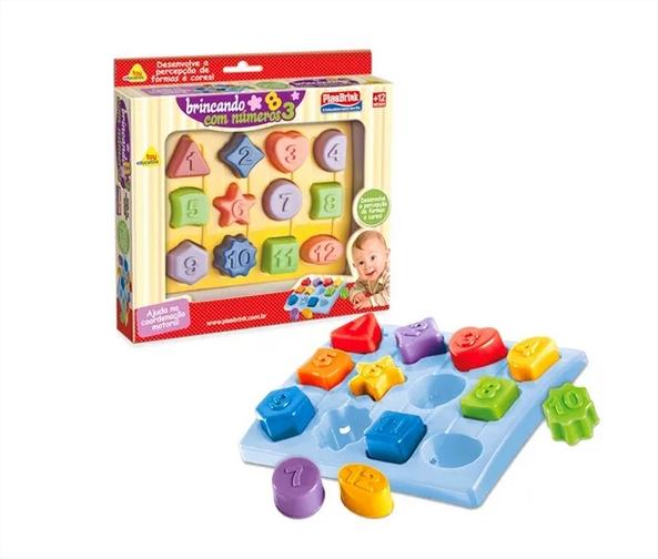 Brincando Com Números Atividades Educativo - Plasbrink