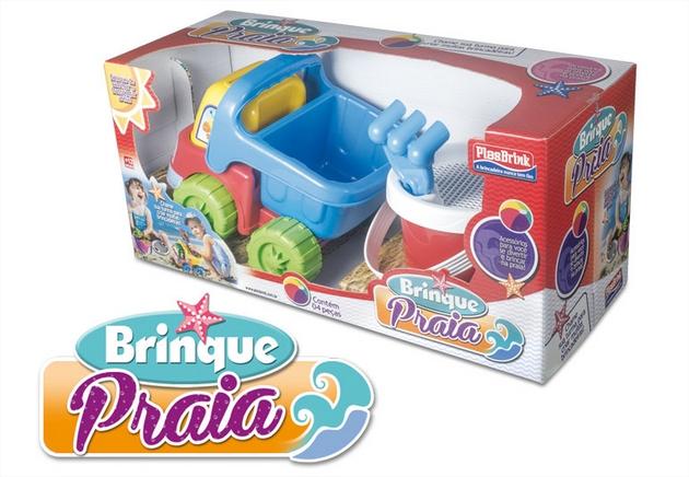 Brinquedo Brinque Praia Plasbrink