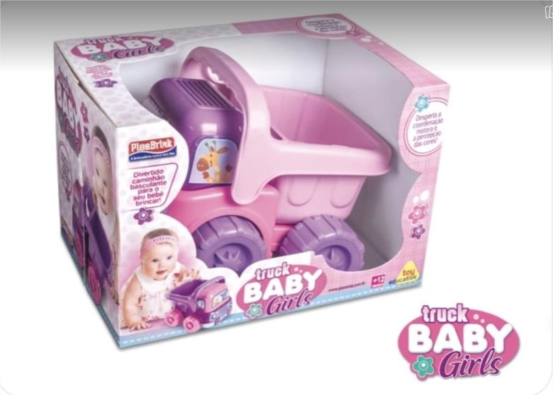 Caminhão Little Truck Baby P/ Bebês - Plasbrink