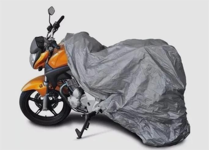 Capa 100% Impermeável Anti Uv Protetora Para Cobrir Moto