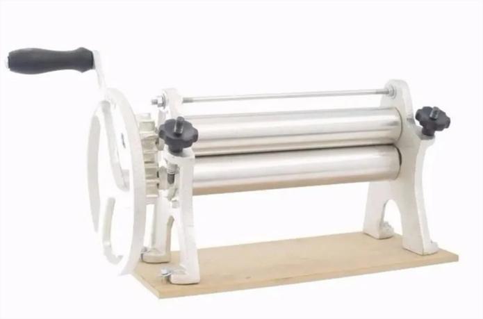 Cilindro De Massas Manual 40 Cm - Picelli Fazer Pães Pastéis