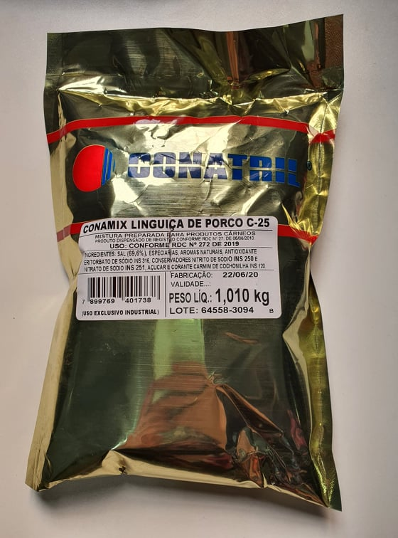 Conamix Linguiça De Porco C-25 1kg