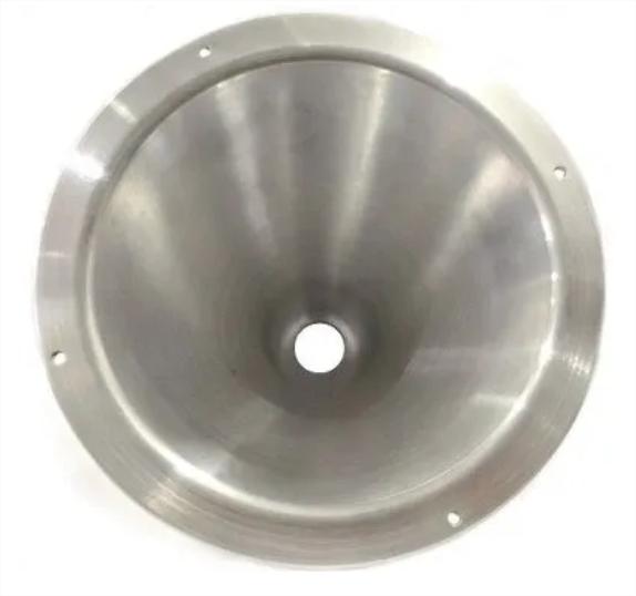 Corneta De Alumínio Cone Longo Médio De Rosca