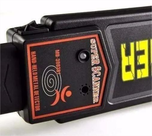 Detector De Metal Profissional Super Scanner Sensor