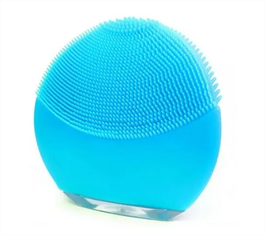 Esponja Elétrica Vibratória Para Massagem E Limpeza Facial