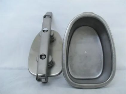 Forma Para Fabricação De Presunto Oval 2kg