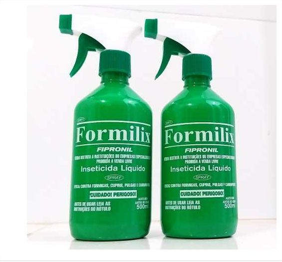 Kit Com 2un De Formilix Original 100% 500ml Cada Frasco