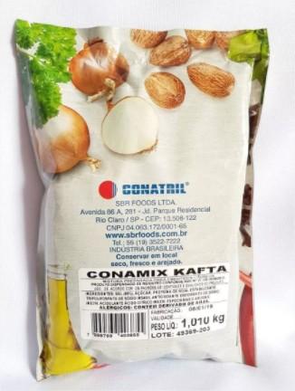 Kit de Tempero 10 Un Conamix Kafta + 4 Un Conamix Salame