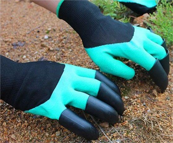 Luva Jardinagem Ferramenta P/ Jardim Protege Cava E Planta