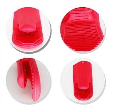 Luva Térmica Cozinha Industrial Silicone 5 Dedos Anticalor