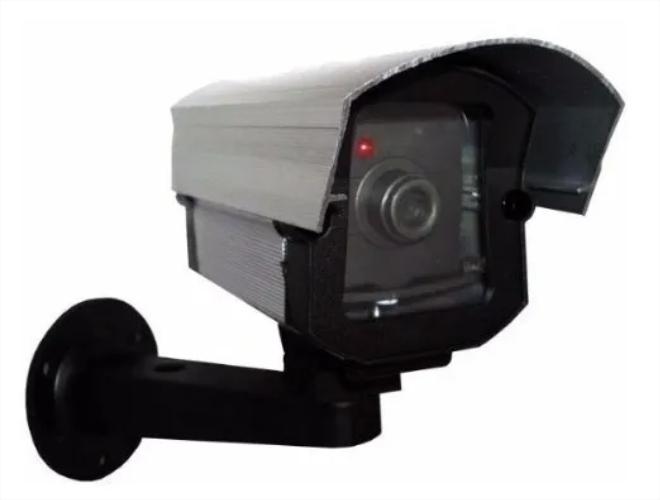 Micro Câmera Falsa Com Led P/ Segurança