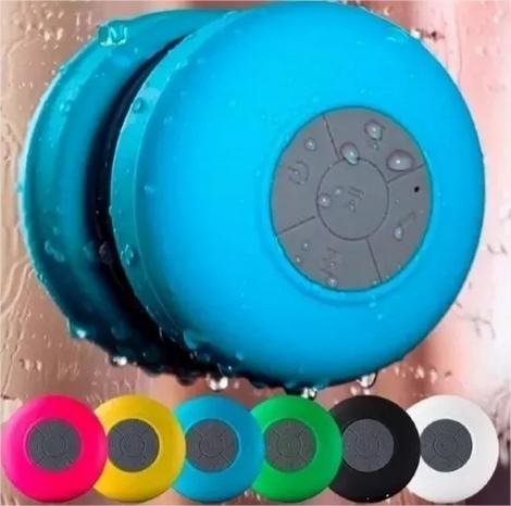 Mini Caixinha Som Bluetooth Prova Água Para Banho