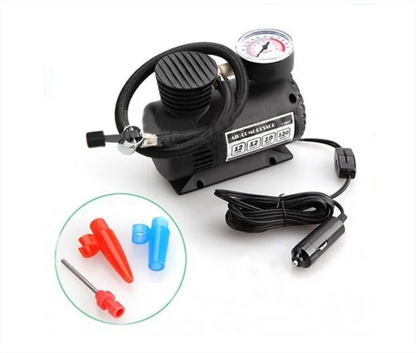 Mini Compressor De Ar Automotivo Multiuso 12v