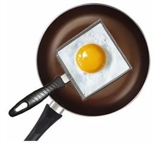 Modelador Para Fritar Ovos Quadrado Modelar Alimentos