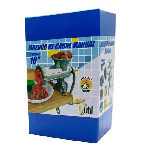 Moer Carne Maquina Manual Tamanho Boca 10