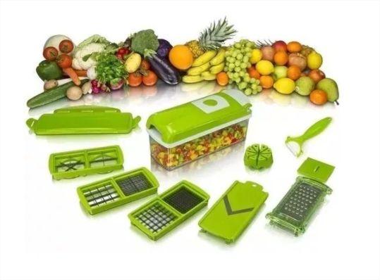 Nicer Dicer Plus Processador Cortado De Alimentos Legumes