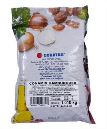 Tempero Para Preparo de Hambúrguer Conamix 1kg