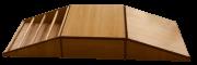 Sobe e Desce Pikler (base rampa e rampa com ripa) - Envio Imediato