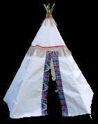 Barraca Cabana Tenda Índio Bemboladas - Envio Imediato