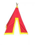 Tenda Infantil Vermelha Bemboladas - Envio Imediato