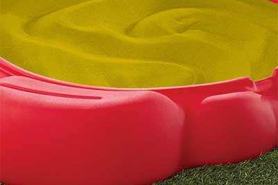 Areia Tratada Colorida ou Natural - Bemboladas